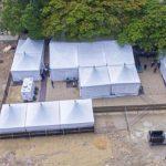 """Senador de Montecristi dice hospital donado por Abinader se inundó por lluvias y """"las camas estaban boyando"""""""