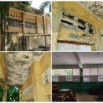 Escuela en Villa Tropicalia a punto del colapso por el abandono.